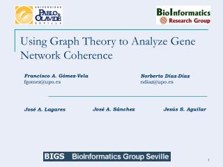 Using Graph Theory to Analyze Gene Network Coherence