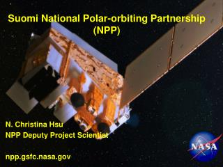 Suomi National Polar-orbiting Partnership (NPP)