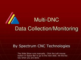 Multi-DNC  Data Collection/Monitoring