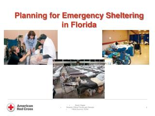 Planning for Emergency Sheltering in Florida