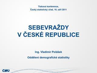 SEBEVRAŽDY                                V ČESKÉ REPUBLICE