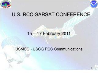 U.S. RCC-SARSAT CONFERENCE