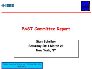 PAST Committee Report