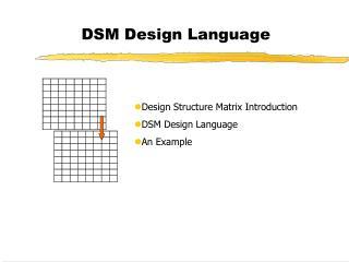 DSM Design Language