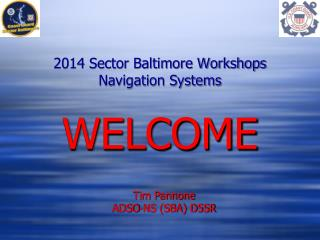 2014 Sector Baltimore Workshops Navigation Systems