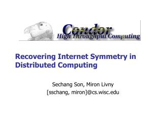 Recovering Internet Symmetry in Distributed Computing
