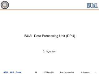 ISUAL Data Processing Unit (DPU)
