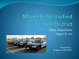 Montebello Unified School District