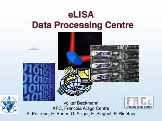 eLISA  Data Processing Centre