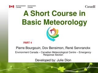 A Short Course in Basic Meteorology