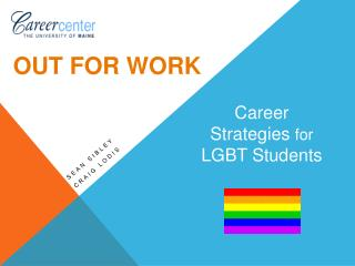 Career  Strategies  for  LGBT Students
