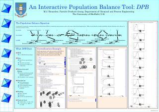The Population Balance Equation