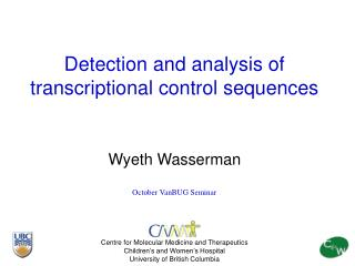 Detection and analysis of transcriptional control sequences