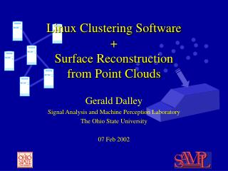Linux Clustering Software + Surface Reconstruction  from Point Clouds