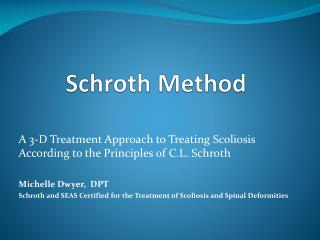 Schroth  Method