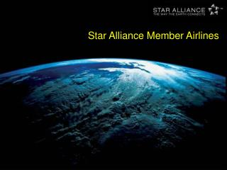 Star Alliance Member Airlines