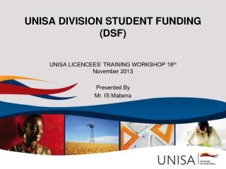 UNISA DIVISION STUDENT FUNDING (DSF)