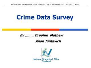 Crime Data Survey
