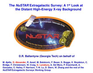 The  NuSTAR  Extragalactic Survey: A 1 st  Look at the Distant High-Energy X-ray Background