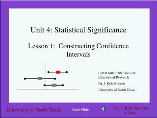 Unit 4: Statistical Significance
