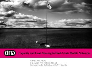 Capacity and Load Sharing in Dual-Mode Mobile Networks