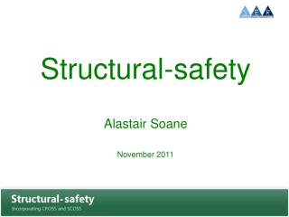 Structural-safety  Alastair Soane November 2011