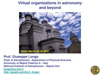 Virtual organizations in astronomy  and beyond