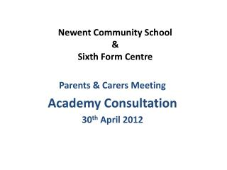 Newent Community School & Sixth Form Centre