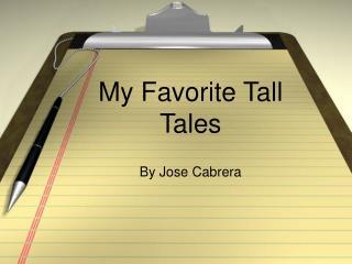 My Favorite Tall Tales