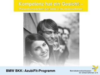 BMW BKK: AzubiFit-Programm