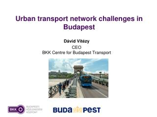 Urban transport network challenges in Budapest