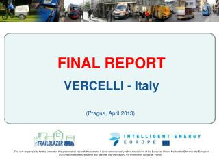 FINAL REPORT VERCELLI - Italy