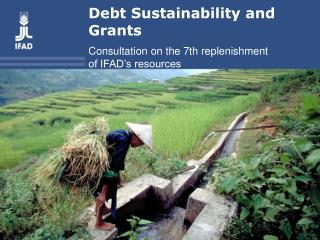 Debt Sustainability and Grants