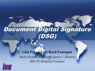 Document Digital Signature (DSG)