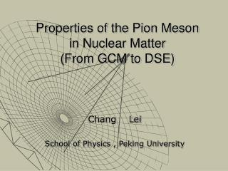 Properties of the Pion Meson in Nuclear Matter (From GCM to DSE)