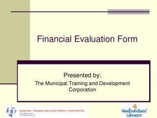 Financial Evaluation Form
