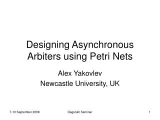 Designing Asynchronous Arbiters using Petri Nets