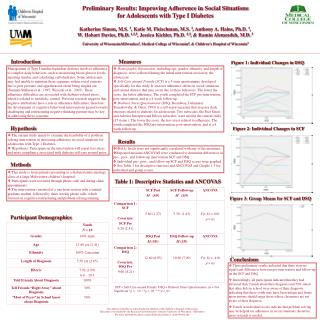 Preliminary Results: Improving Adherence in Social Situations