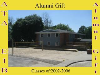 Alumni Gift
