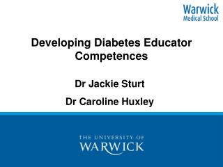 Developing Diabetes Educator Competences