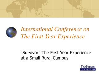 International Conference on The First-Year Experience