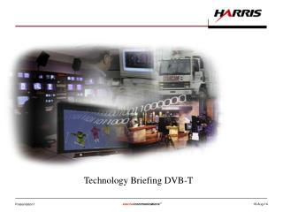 Technology Briefing DVB-T