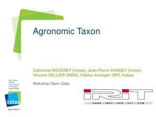 Agronomic Taxon
