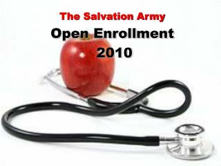 The Salvation Army Open Enrollment  2010