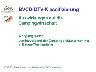 BVCD-DTV-Klassifizierung