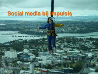 Social media  bij impulsis