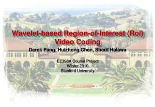 Wavelet-based Region-of-Interest (RoI) Video Coding