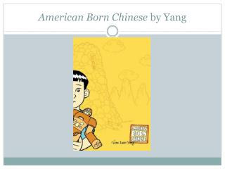 American Born Chinese  by Yang