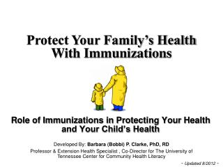 Immunizations for Children and Teens