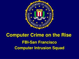 Computer Crime on the Rise